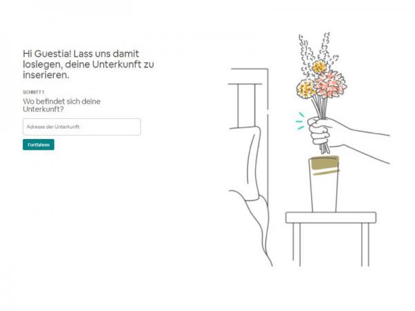 Airbnb Profil erstellen